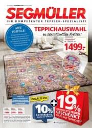 Segmüller Segmüller: Ihr kompetenter Teppich-Spezialist November 2017 KW46