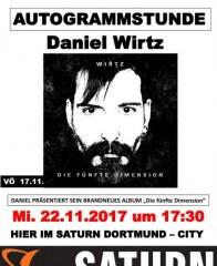 Saturn Autogrammstunde Daniel Wirtz November 2017 KW46