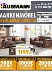 Möbel Hausmann Markenmöbel unschlagbar günstig November 2017 KW46 2