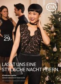 C&A Lasst uns eine stylische Nacht feiern November 2017 KW46