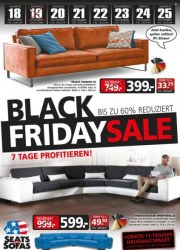 Seats and Sofas Black Friday-Sale November 2017 KW46