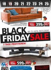Seats and Sofas Black Friday-Sale November 2017 KW46