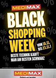 MediMax Black Shopping Week November 2017 KW46