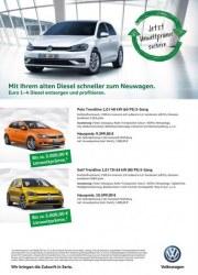Volkswagen Jetzt Umweltprämie sichern November 2017 KW46