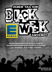 Edeka Jeden Tag ein BLACK WEEK Angebot November 2017 KW47