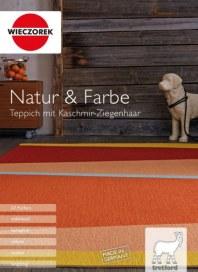 Wieczorek Teppichboden Einzelhandel UG Natur & Farbe I Teppich mit Kaschmir-Ziegenhaar November 2017