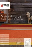 PARDIO Parkett Studio Natur & Farbe I Teppich mit Kaschmir-Ziegenhaar November 2017 KW47