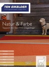 Ten Eikelder Bodenbeläge GmbH Natur & Farbe I Teppich mit Kaschmir-Ziegenhaar November 2017 KW47