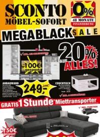 Sconto MegaBlack-Sale November 2017 KW47