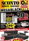 Sconto MegaBlack-Sale November 2017 KW47