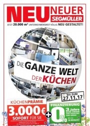Segmüller Neu, Neuer, Segmüller November 2017 KW47 25