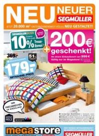 Segmüller megastore: Der Mitnahmemarkt von Segmüller November 2017 KW47 2