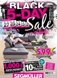 Segmüller Segmüller: Black 5-Day Sale November 2017 KW47 3