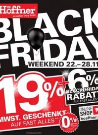 Höffner Black Friday November 2017 KW47
