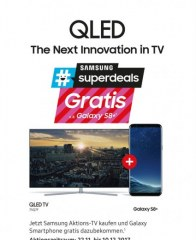 Saturn QLED - The Next Innovation in TV November 2017 KW47