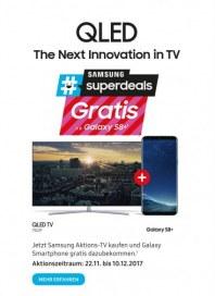 Saturn QLED - The Next Innovation in TV November 2017 KW47