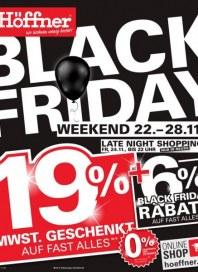 Höffner Black Friday November 2017 KW47 2