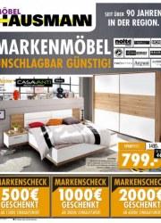 Möbel Hausmann Markenmöbel unschlagbar günstig November 2017 KW47 3