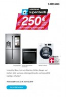 Saturn Bis zu 250€ Cashback auf Samsung Hausgeräte November 2017 KW47