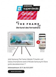 Saturn The Frame - Die Kunst des Fernsehens November 2017 KW47