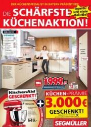 Segmüller Die schärfste Küchenaktion November 2017 KW48