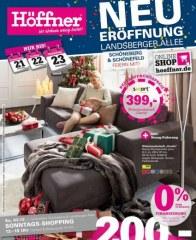 Höffner Wo Wohnen wenig kostet November 2017 KW48