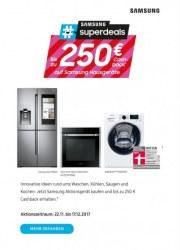 Saturn Bis zu 250€ Cashback auf Samsung Hausgeräte November 2017 KW47 1