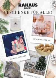 Rahaus Geschenke für alle Dezember 2017 KW48