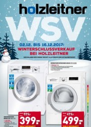 Holzleitner Winterschlussverkauf Dezember 2017 KW49