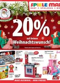 Spiele Max 20% auf deinen Weihnachtswunsch Dezember 2017 KW49