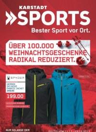 Karstadt Sports ÜBER 100.000 WEIHNACHTSGESCHENKE RADIKAL REDUZIERT Dezember 2017 KW50