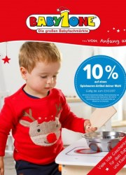 BabyOne 10% auf einen Spielwaren-Artikel deiner Wahl Dezember 2017 KW50