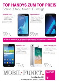 Mobil Punkt GmbH & Co.KG Top Handys zum Top Preis Dezember 2017 KW50 1