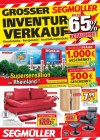 Segmüller Großer Inventurverkauf bei Segmüller Dezember 2017 KW50 6-Seite1
