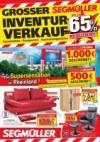 Segmüller Großer Inventurverkauf bei Segmüller Dezember 2017 KW50 6