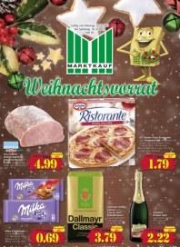 Marktkauf Weihnachtsvorrat Dezember 2017 KW50 1