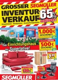 Segmüller Großer Inventurverkauf bei Segmüller Dezember 2017 KW50 7