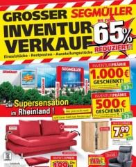 Segmüller Großer Inventurverkauf bei Segmüller Dezember 2017 KW50 9