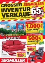 Segmüller Großer Inventurverkauf bei Segmüller Dezember 2017 KW50 10