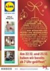 Lidl Wir wünschen ein frohes und besinnliches Weihnachtsfest Dezember 2017 KW51