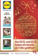 Lidl Wir wünschen ein frohes und besinnliches Weihnachtsfest Dezember 2017 KW51 2