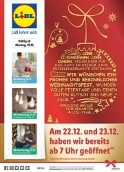 Lidl Wir wünschen ein frohes und besinnliches Weihnachtsfest Dezember 2017 KW51 4