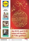 Lidl Wir wünschen ein frohes und besinnliches Weihnachtsfest Dezember 2017 KW51 9
