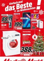 MediaMarkt Einfach mal das Beste zu Weihnachten Dezember 2017 KW51