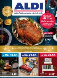 Aldi Nord Jeden Tag besonders - einfach ALDI Dezember 2017 KW51 1