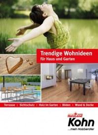 HolzLand Kohn Trendige Wohnideen für Haus und Garten März 2018 KW12