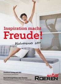 HolzLand Roeren Inspiration macht Freude Januar 2018 KW01