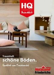 Holzland Friederichs Traumhaft schöne Böden. Qualität vom Fachhandel Januar 2018 KW01