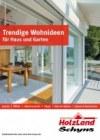 Holzland Schyns Trendige Wohnideen für Haus und Garten Januar 2018 KW01
