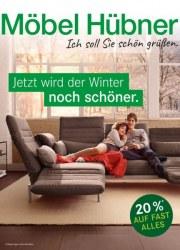 Möbel Hübner Ich soll Sie schön grüßen Januar 2018 KW01